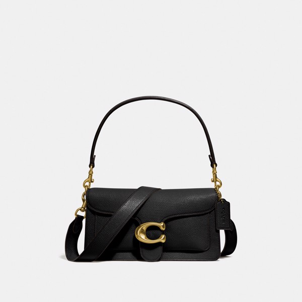 Coach Tabby Shoulder Bag 26 - Brass/Black
