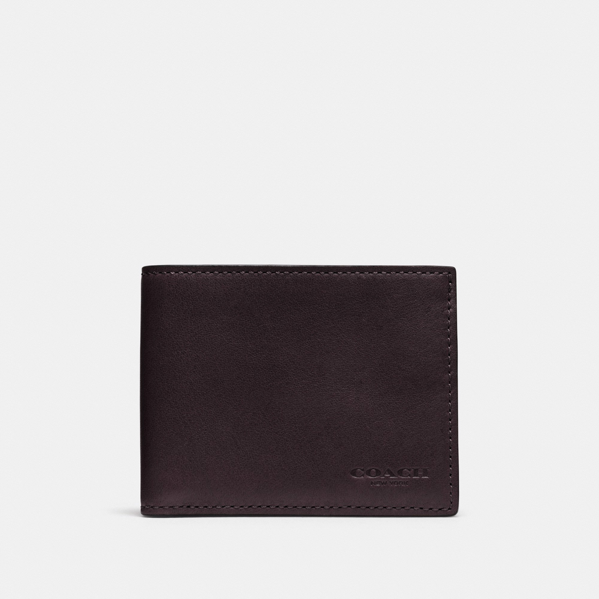Coach Slim Biilfold ID Wallet 'Chestnut'