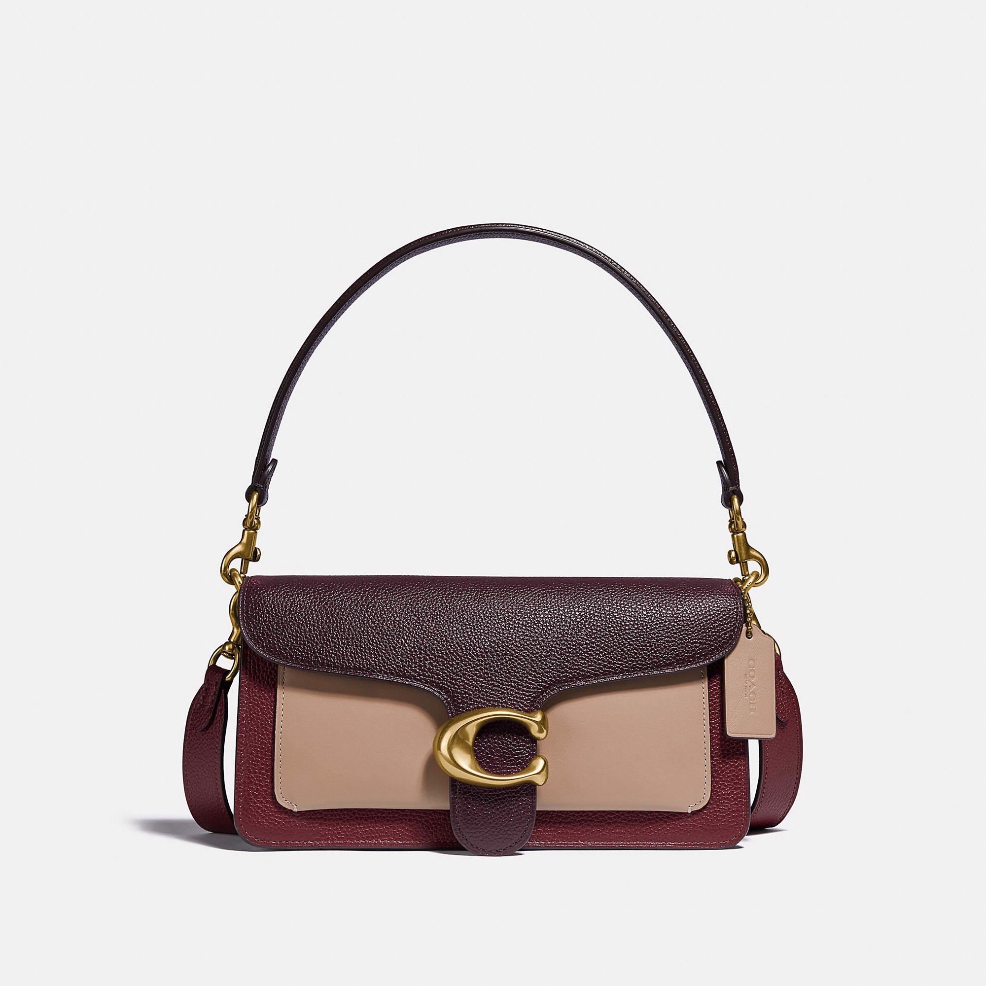 Coach Tabby Shoulder Bag 26 In Colorblock - Confetti Multi