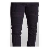 KDNK Distressed Biker Jeans (Black)