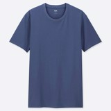 Uniqlo Crew Neck Short-Sleeve T-Shirt 'Blue'