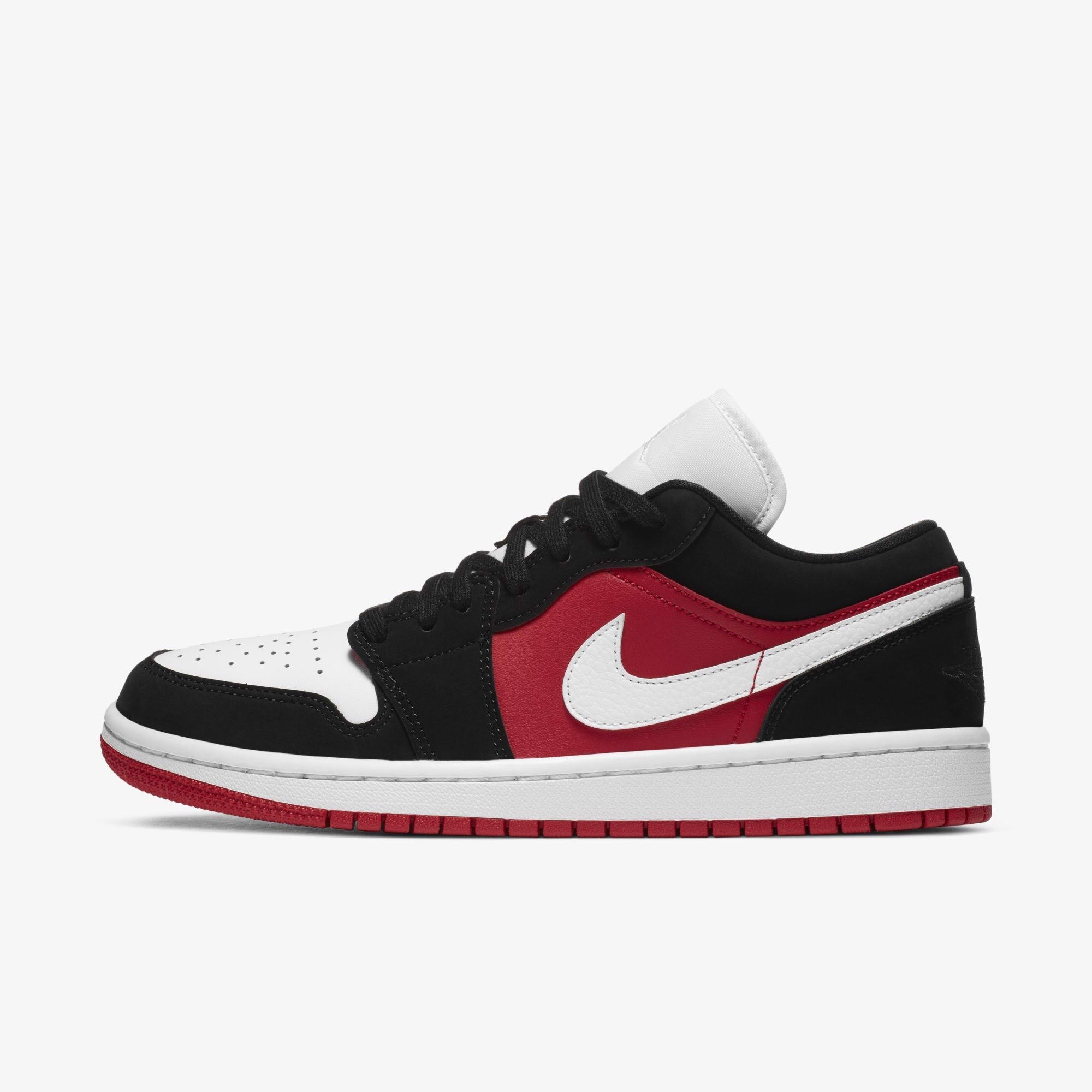 Air Jordan 1 Low - Gym Red/Black/White