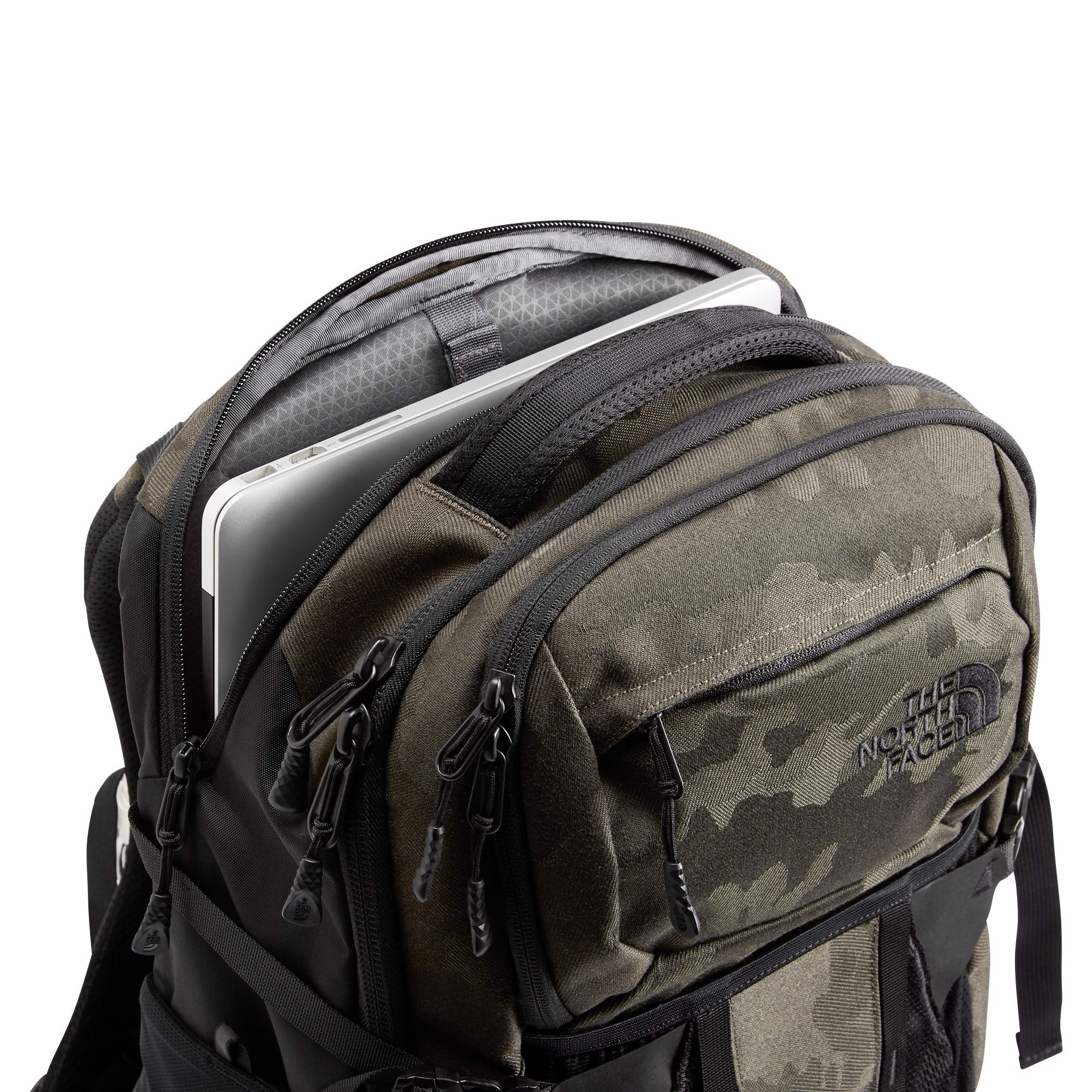 The North Face Recon Backpack - New Taupe/Green Camo Jacquard