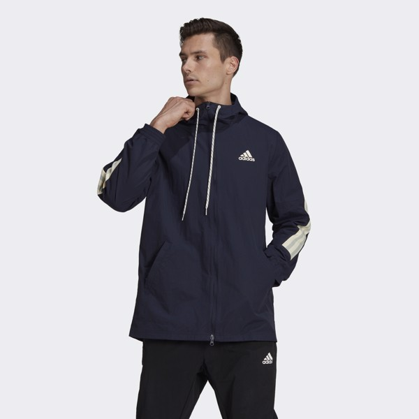 adidas Sportswear 3-Stripes Tape Jacket - Legend Ink