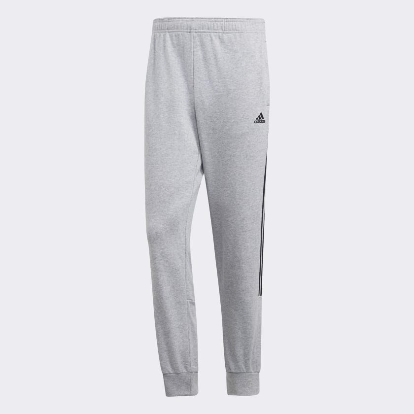 adidas Cotton Energize Track Pants 'Grey'