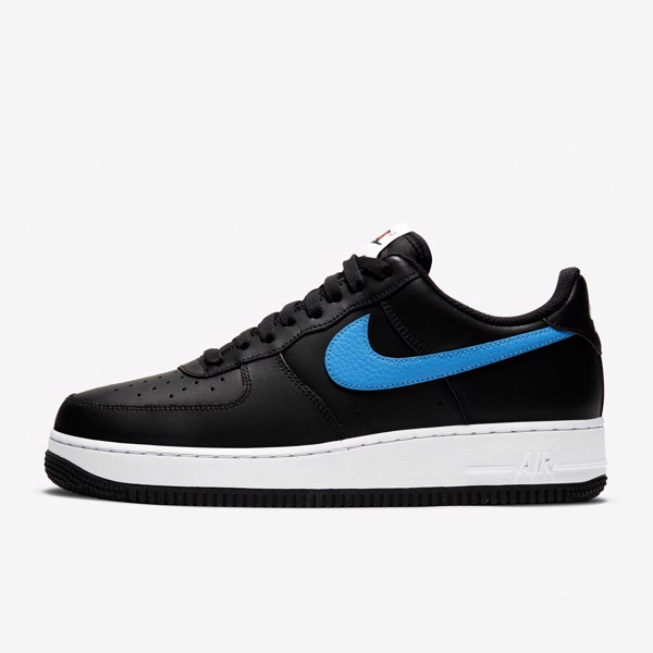 Nike Air Force 1 '07 -  Black/University Red/Photo Blue
