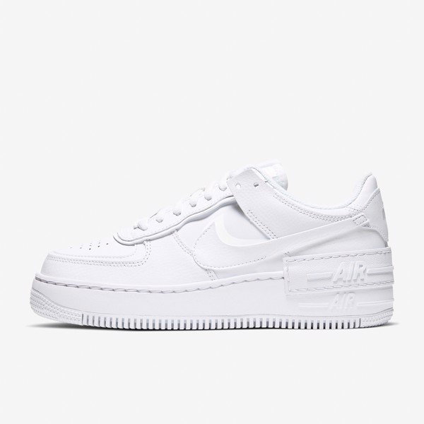 Nike Air Force 1 Shadow - White/White