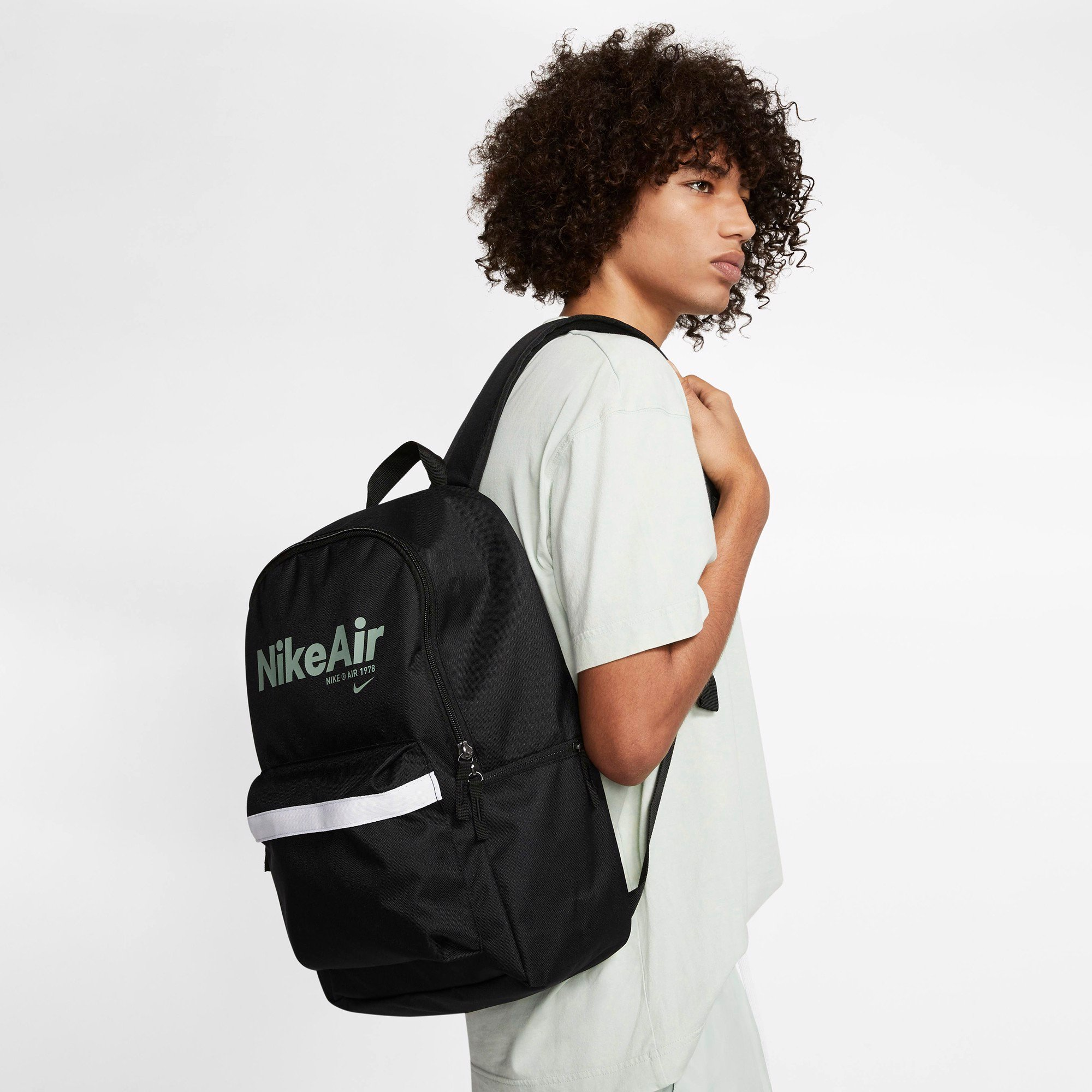 Nike Air Heritage 2.0 Backpack - Black/Silver Pine