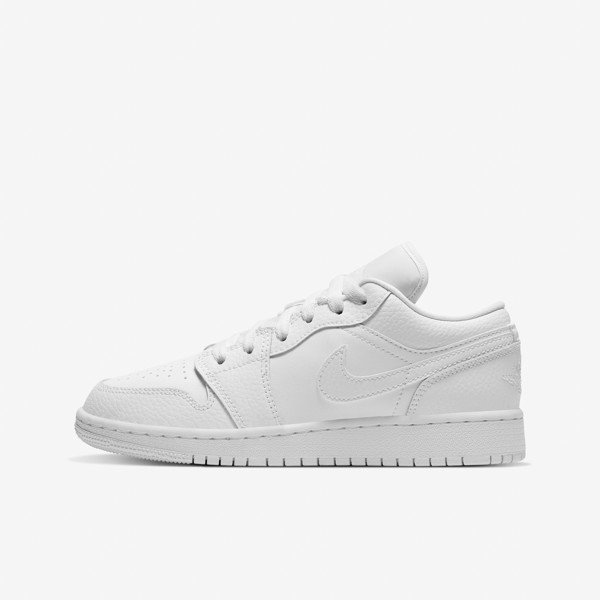 Air Jordan 1 Low GS - All White