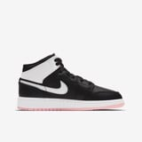 Air Jordan 1 Mid GS - Black/Arctic Punch