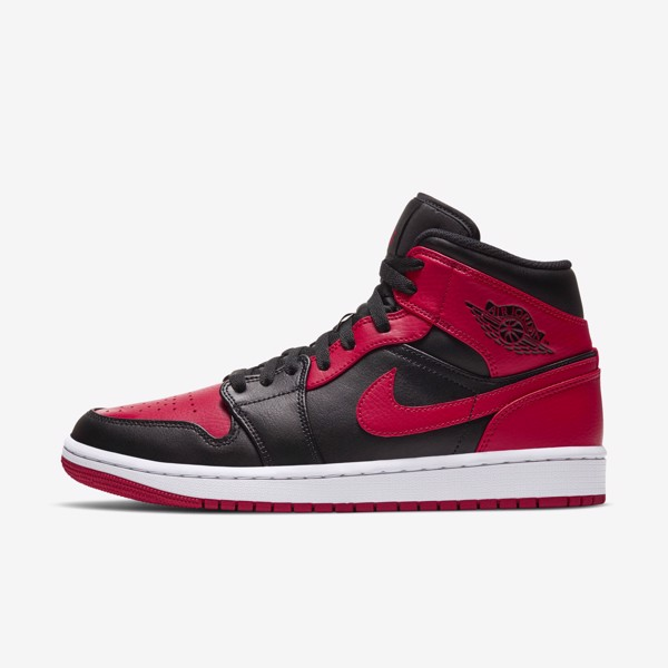 Air Jordan 1 Mid - Black/Red