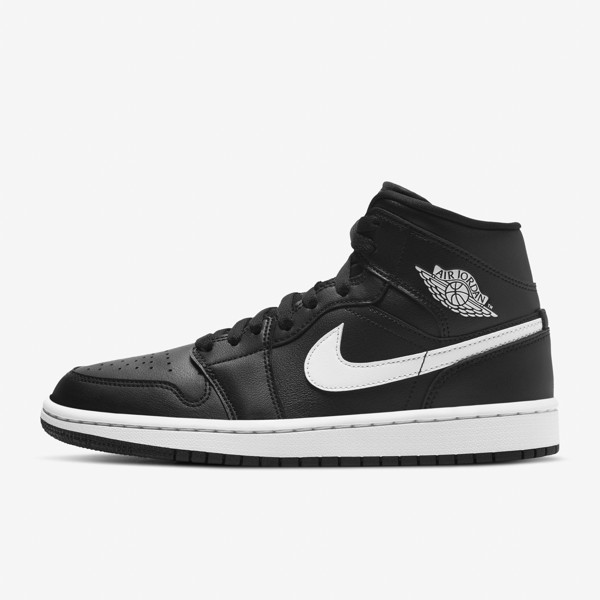 Air Jordan 1 Mid WMNS - Black/White