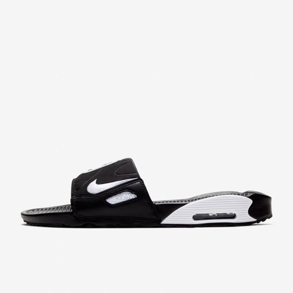 Nike Air Max 90 Slide - Black/White