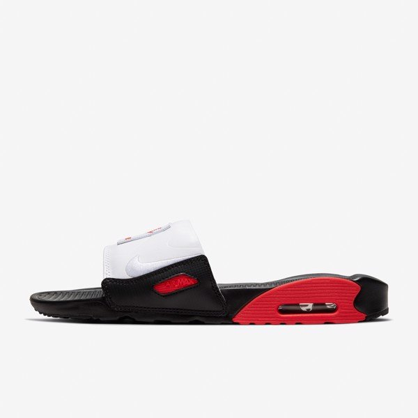 Nike Air Max 90 Slide - Black/Red