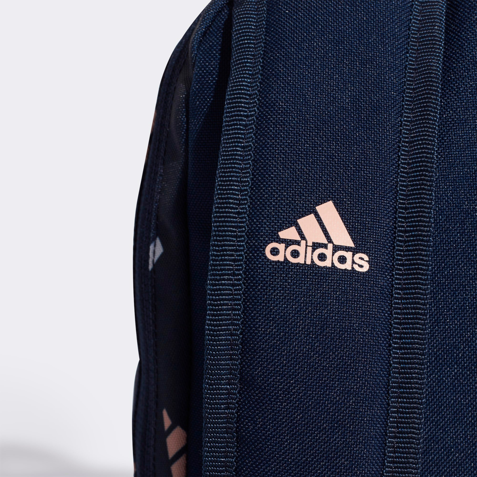 adidas Backpack - Collegiate Navy/Glow Pink