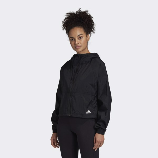 adidas Badge of Sport Woven Jacket - Black