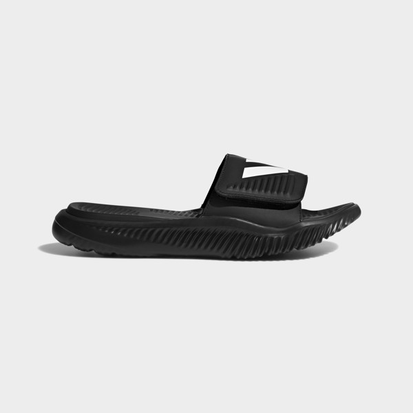 adidas Alphabounce Basketball Slide 'Triple Black'