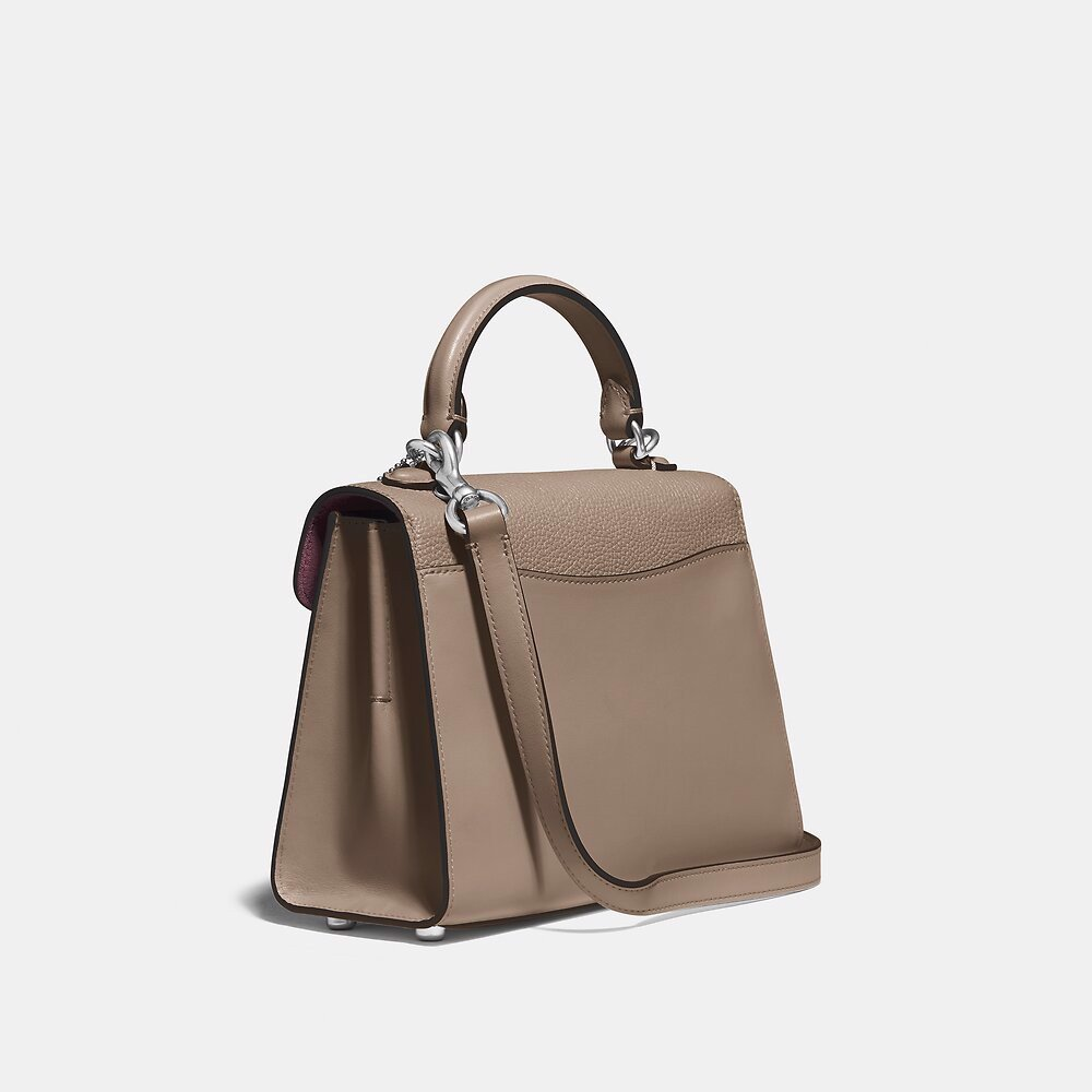 Coach Tabby Top Handle 20 - Taupe