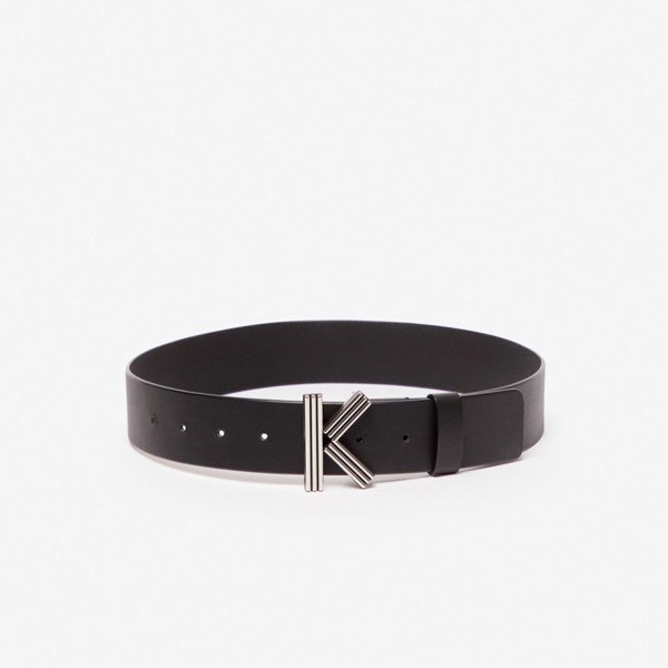 KENZO Wide K-Bag Belt - Black