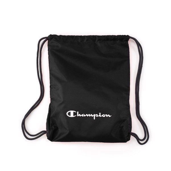 Champion Synthetic Europe Gym Sack - Black