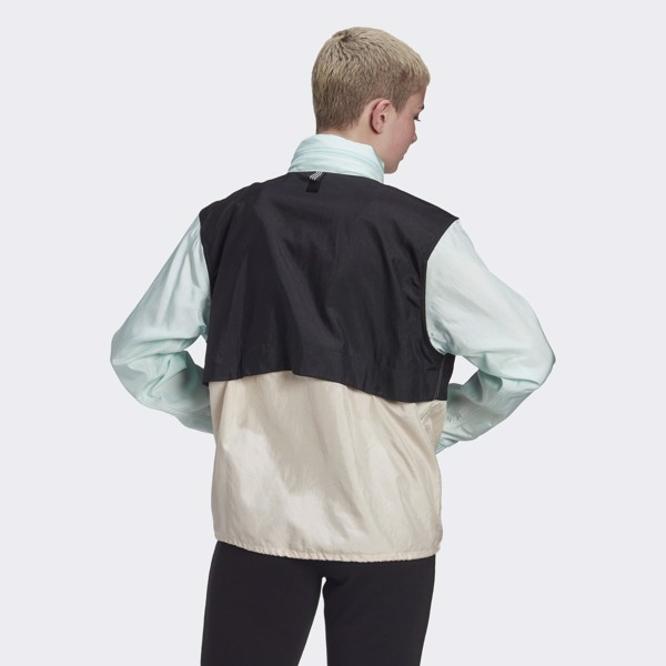 adidas Colorblock Windbreaker - Ice Mint
