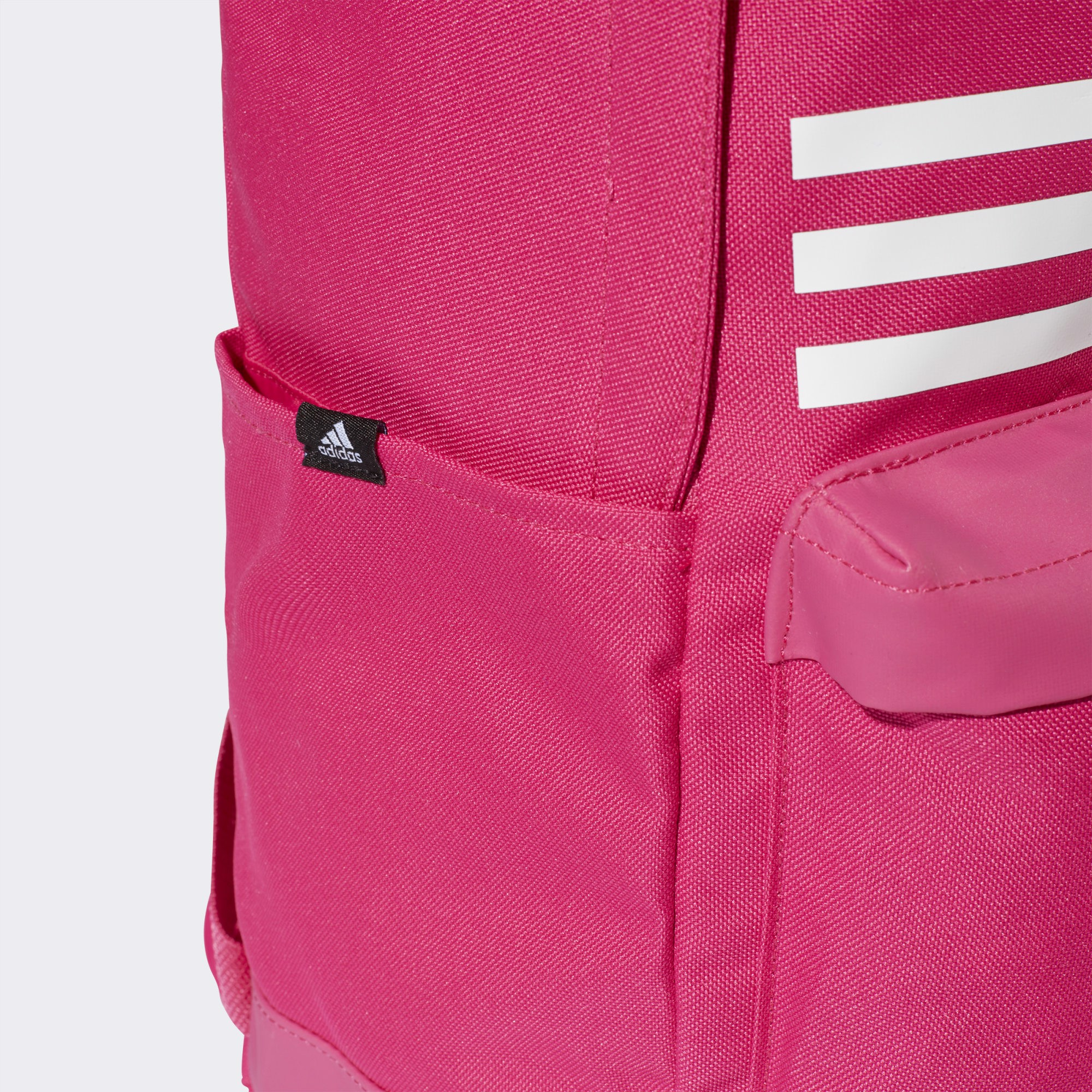 adidas Classic 3-Stripes Pocket Backpack - Magenta