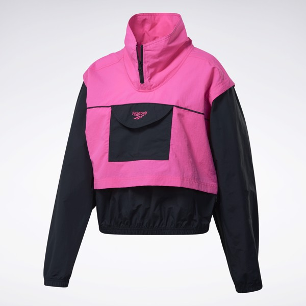Reebok Classic Cover-Up Jacket - Pink