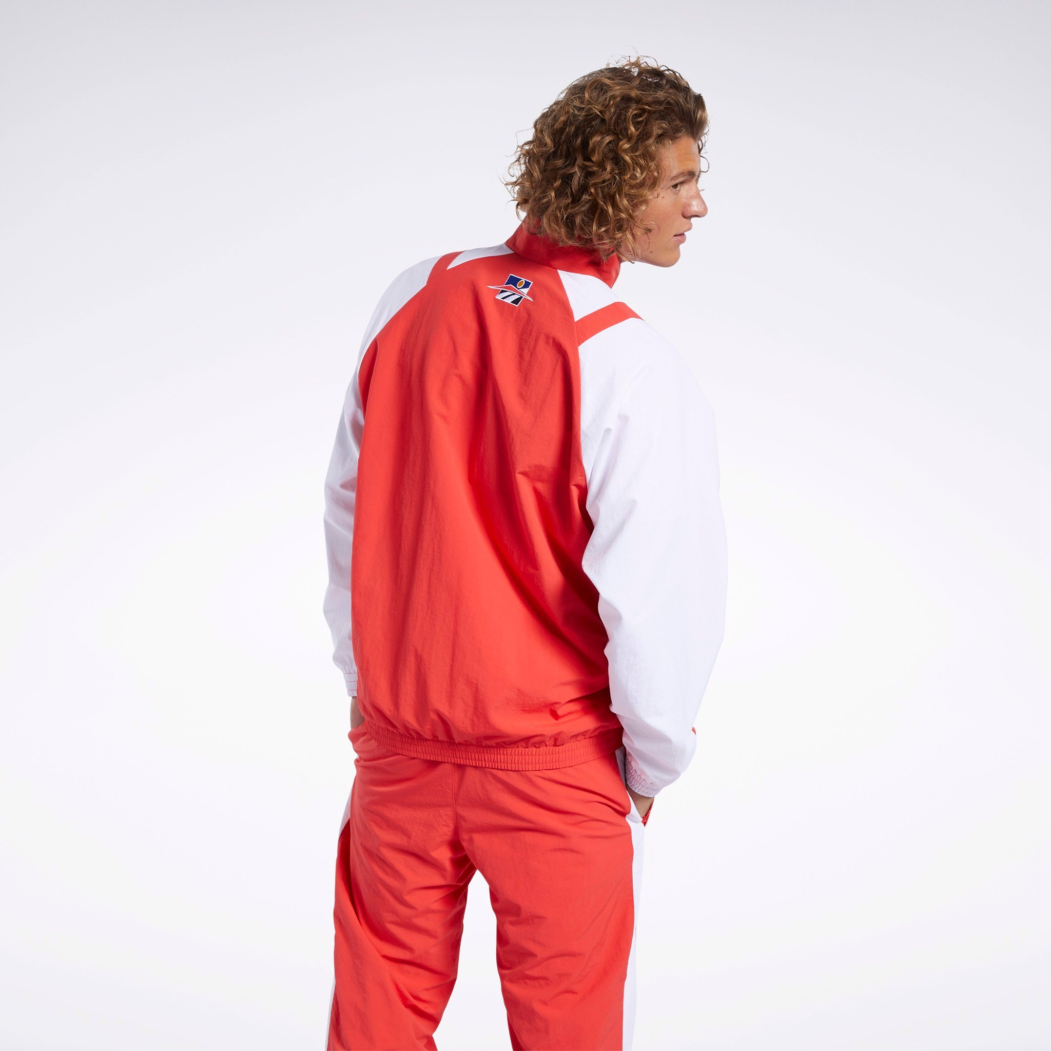 Reebok Classics Twin Vector Track Jacket 'Radiant Red'