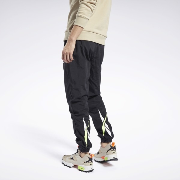 Reebok Classic Vector Track Pants - Black/Green