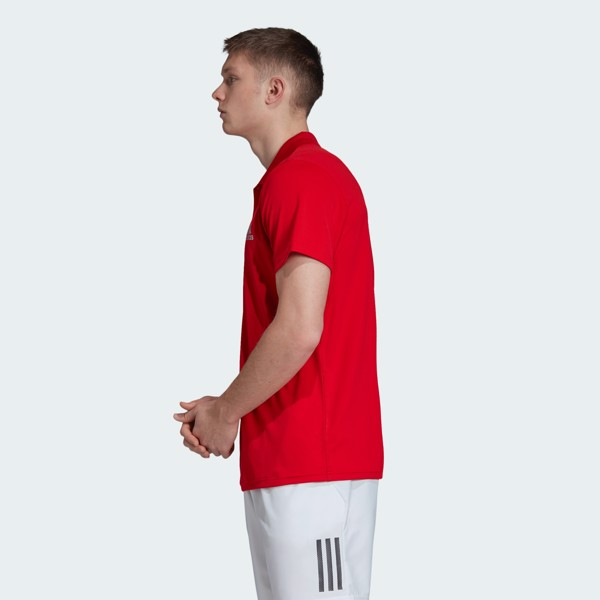 adidas Club Polo Shirt 'Scarlet'