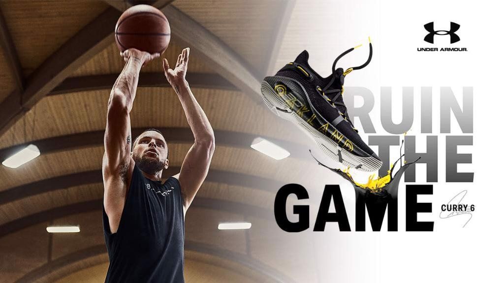 Under Armour Curry 6 'Oakland'