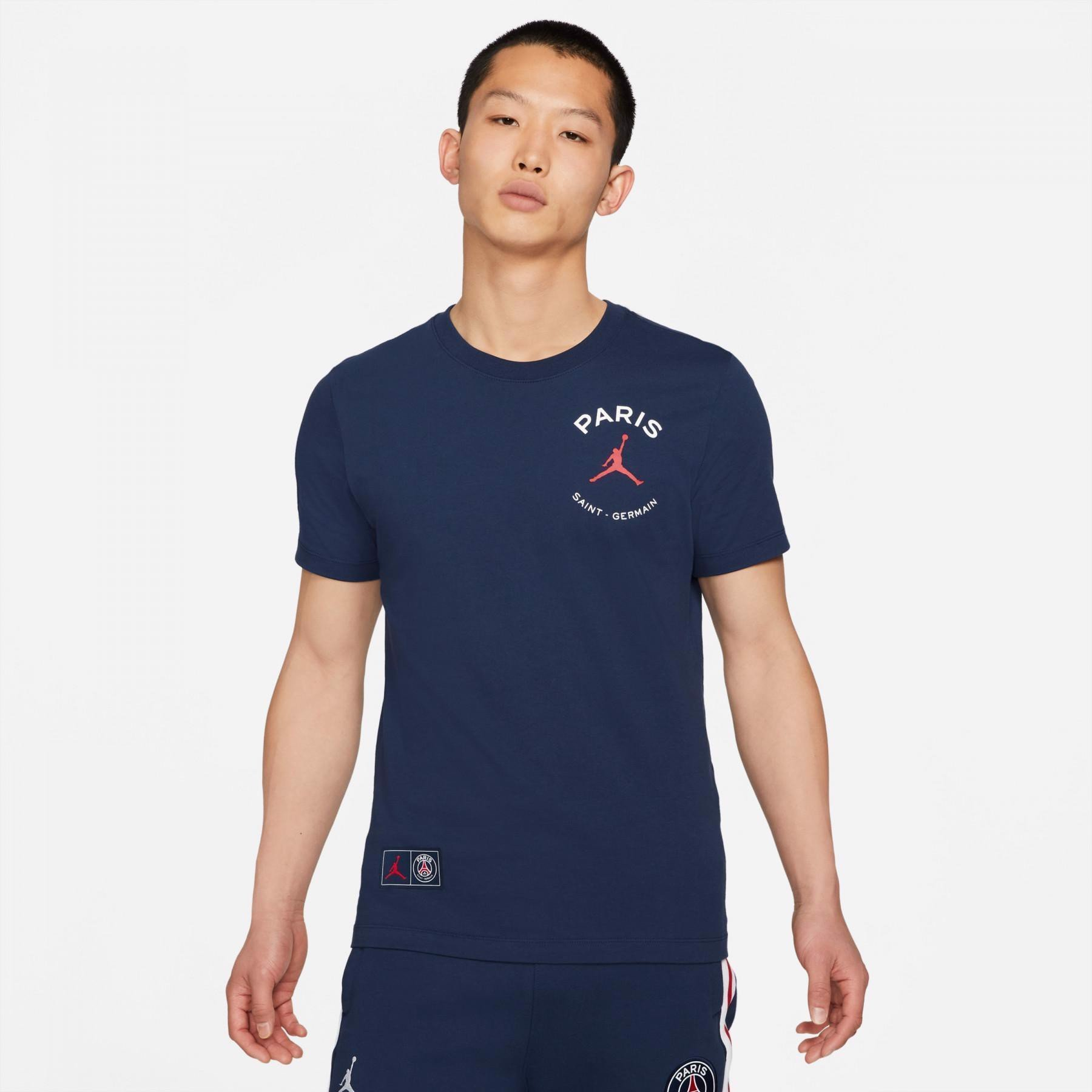 Paris Saint-German x Jordan Short-Sleeve T-Shirt - Navy