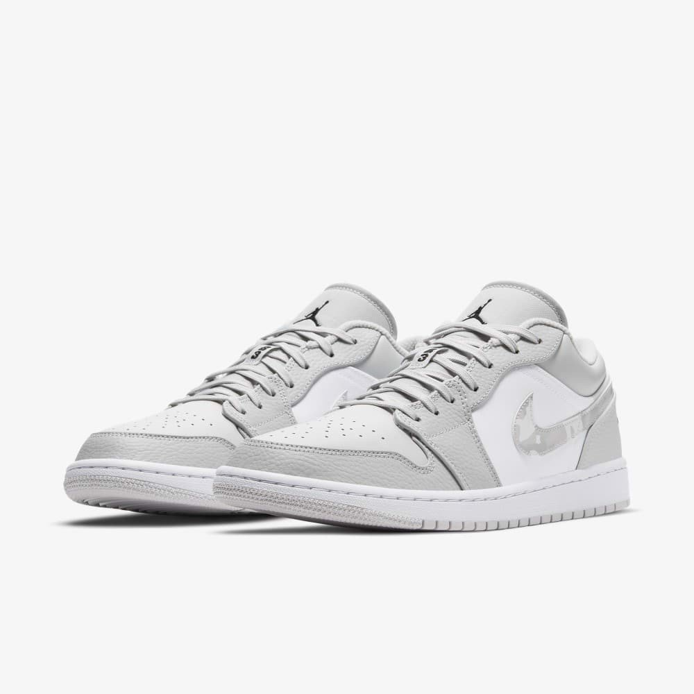 Air Jordan 1 Low GS - White Camo