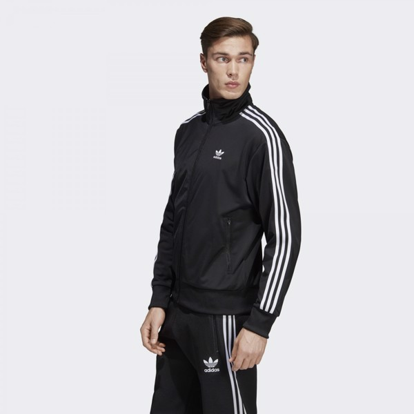 adidas Firebird Track Jacket - Black