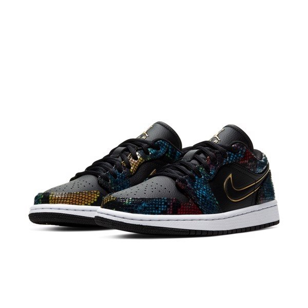 Air Jordan 1 Low 'Multi Snakeskin'