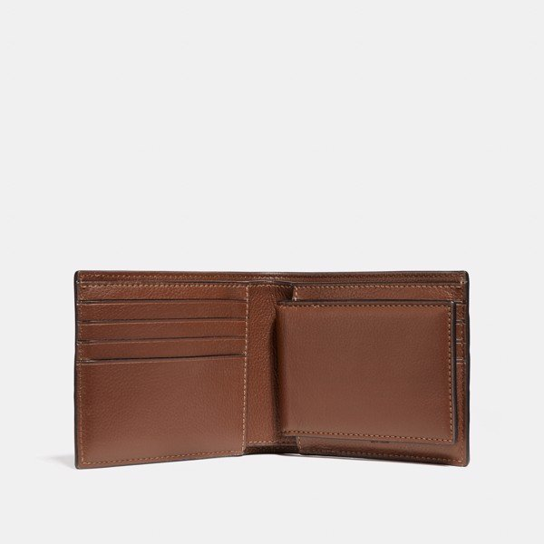 Coach 3-In-1 Wallet Varsity Stripe 'Saddle'