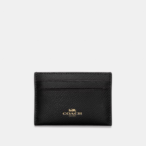 Coach Card Case 'Black'