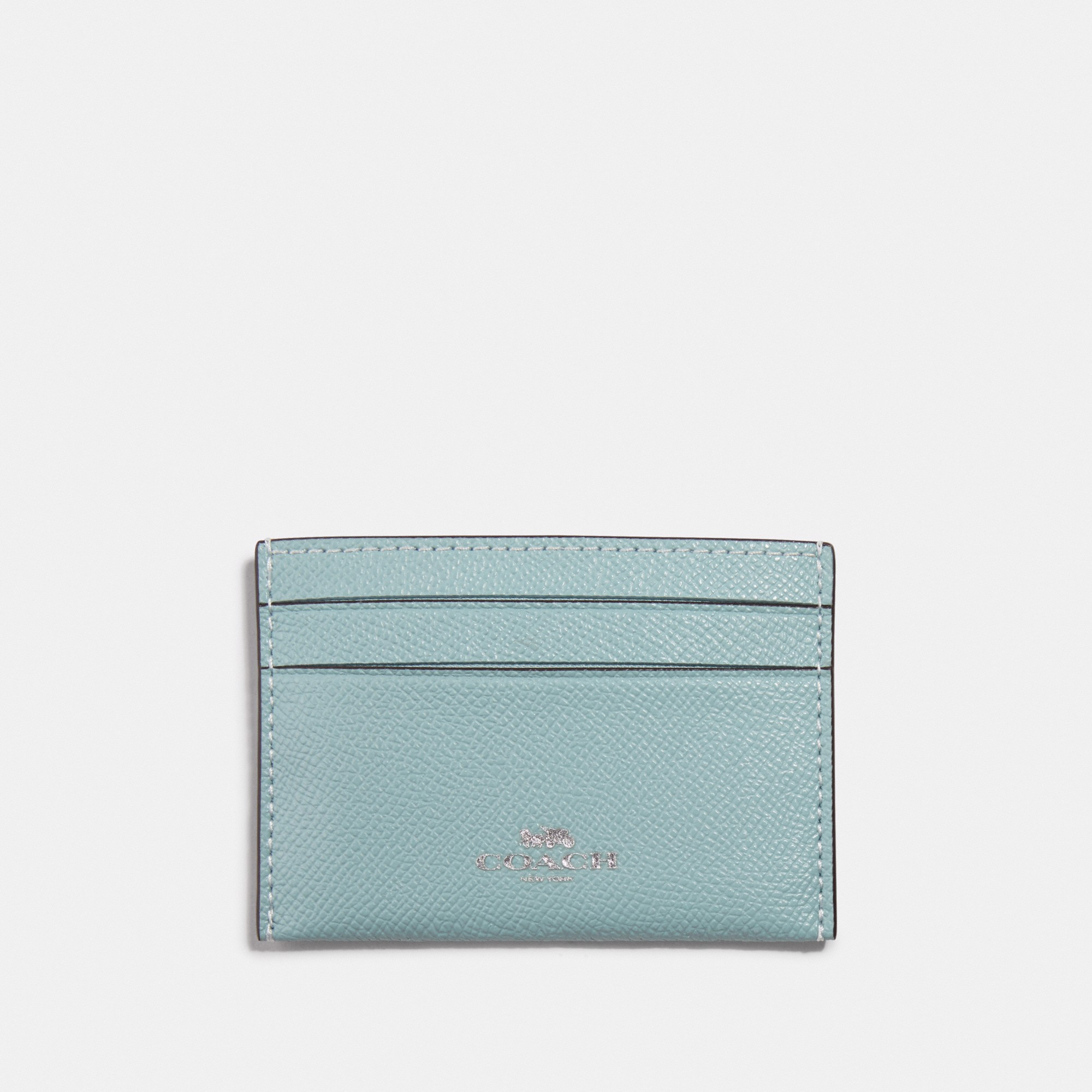 Coach Card Case 'Seafoam'