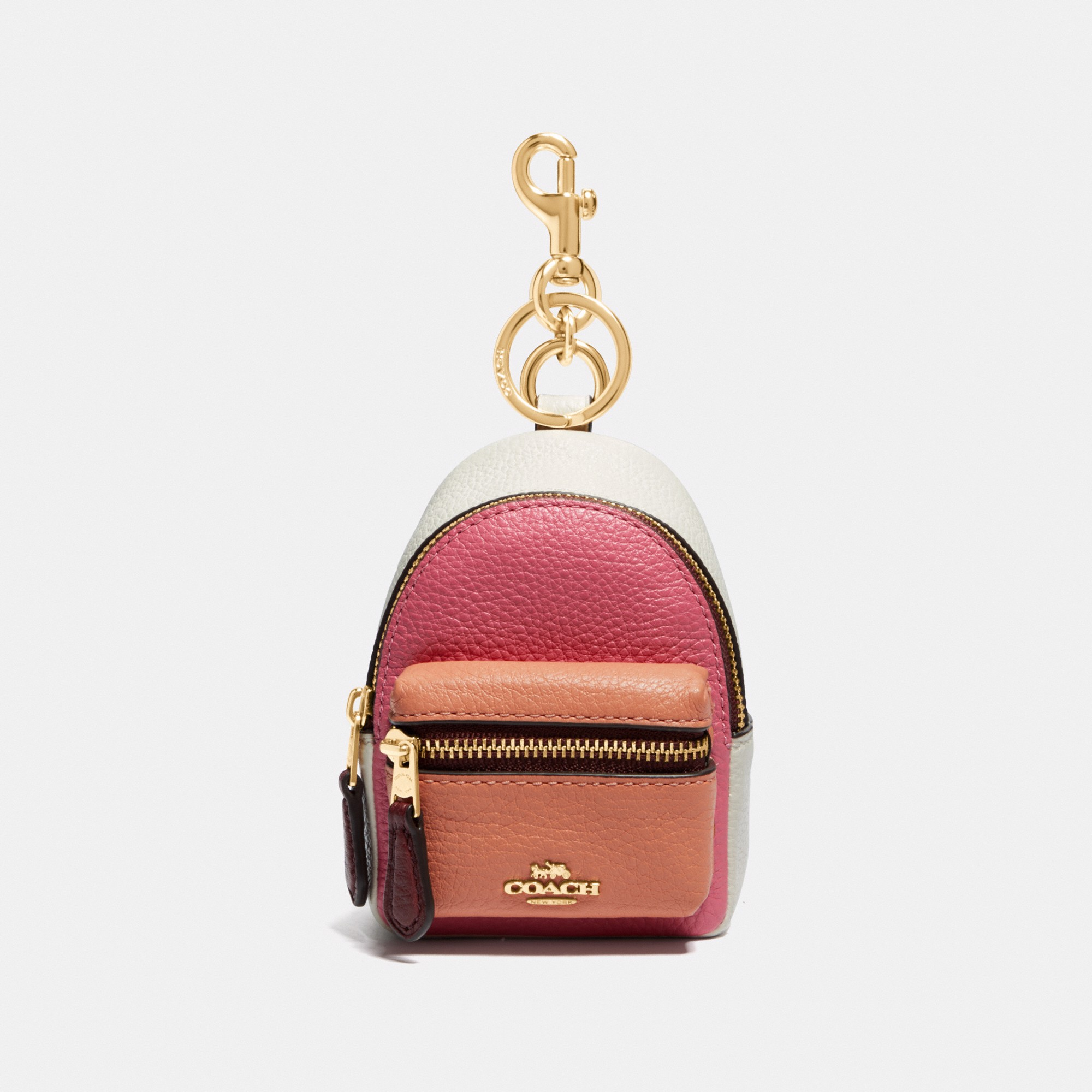 Coach Backpack Coin  In Colorblock