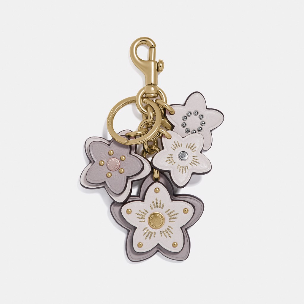 Coach Wildflower Mix Bag Charm