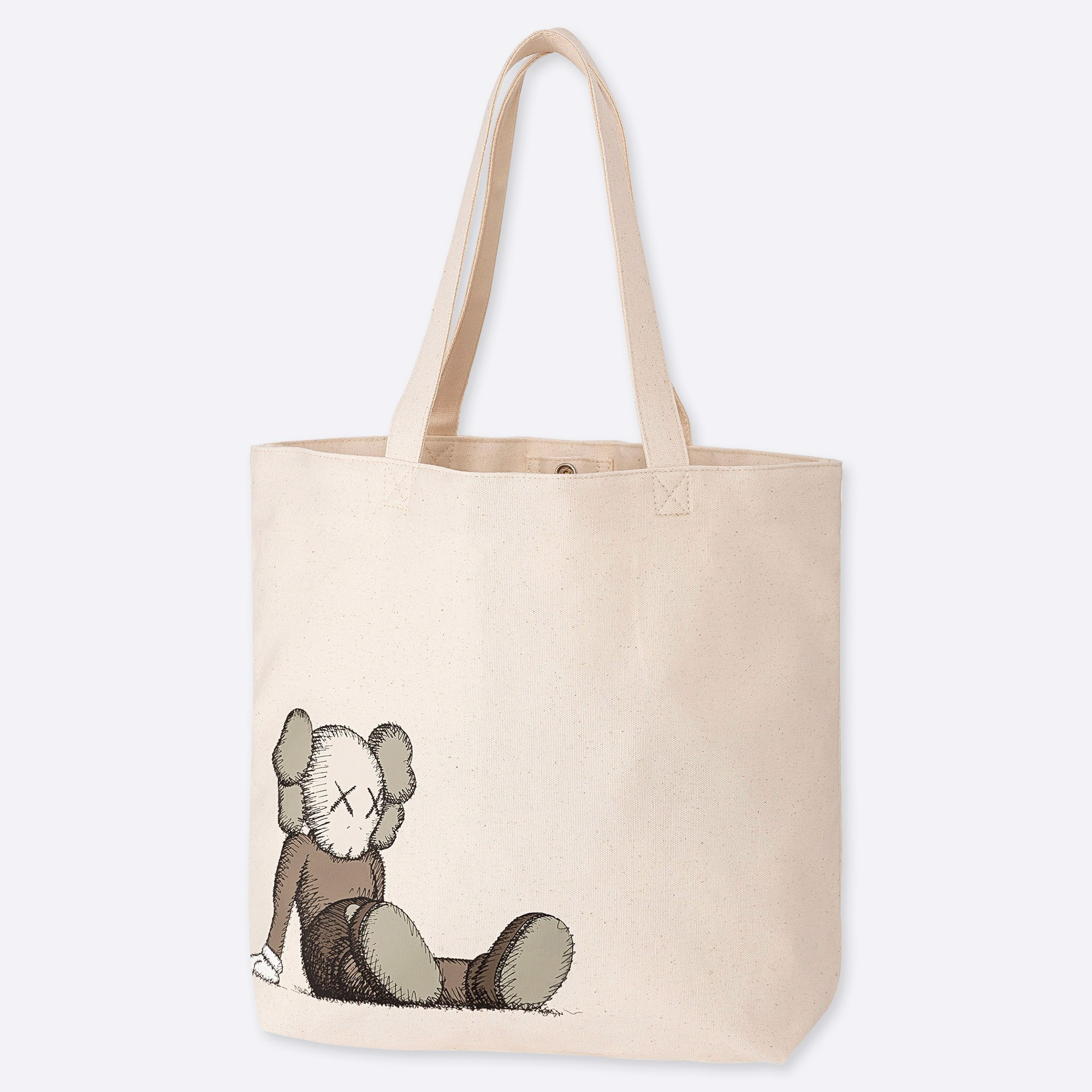 KAWS x Uniqlo Tote Bag 'Grey'