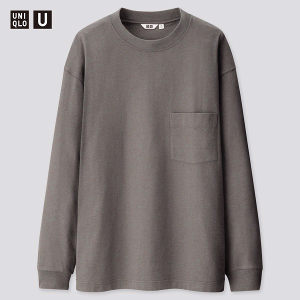 Uniqlo U Crew Neck Long-Sleeve (Pack 2)