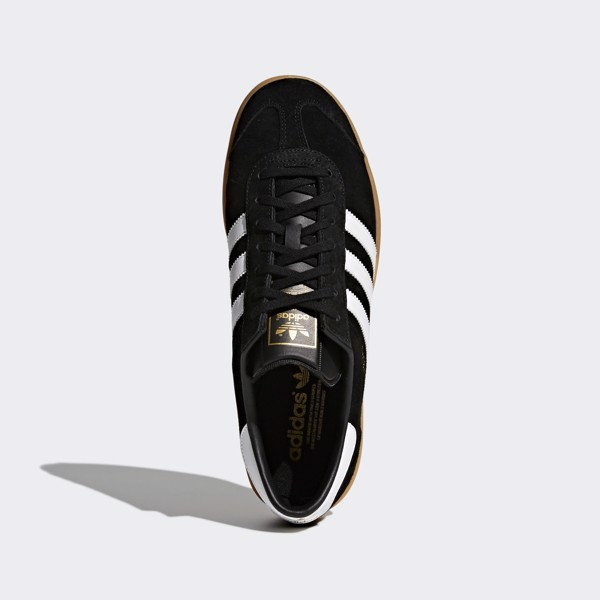 adidas Hamburg Shoes - Black/Gum