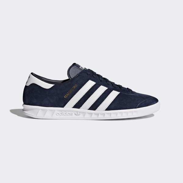 adidas Hamburg Shoes - Collegiate Navy