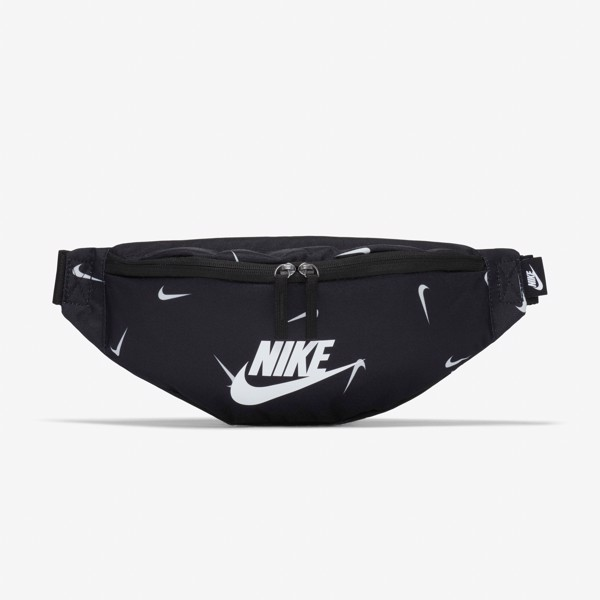Nike Heritage Hip Pack - Black/Swoosh