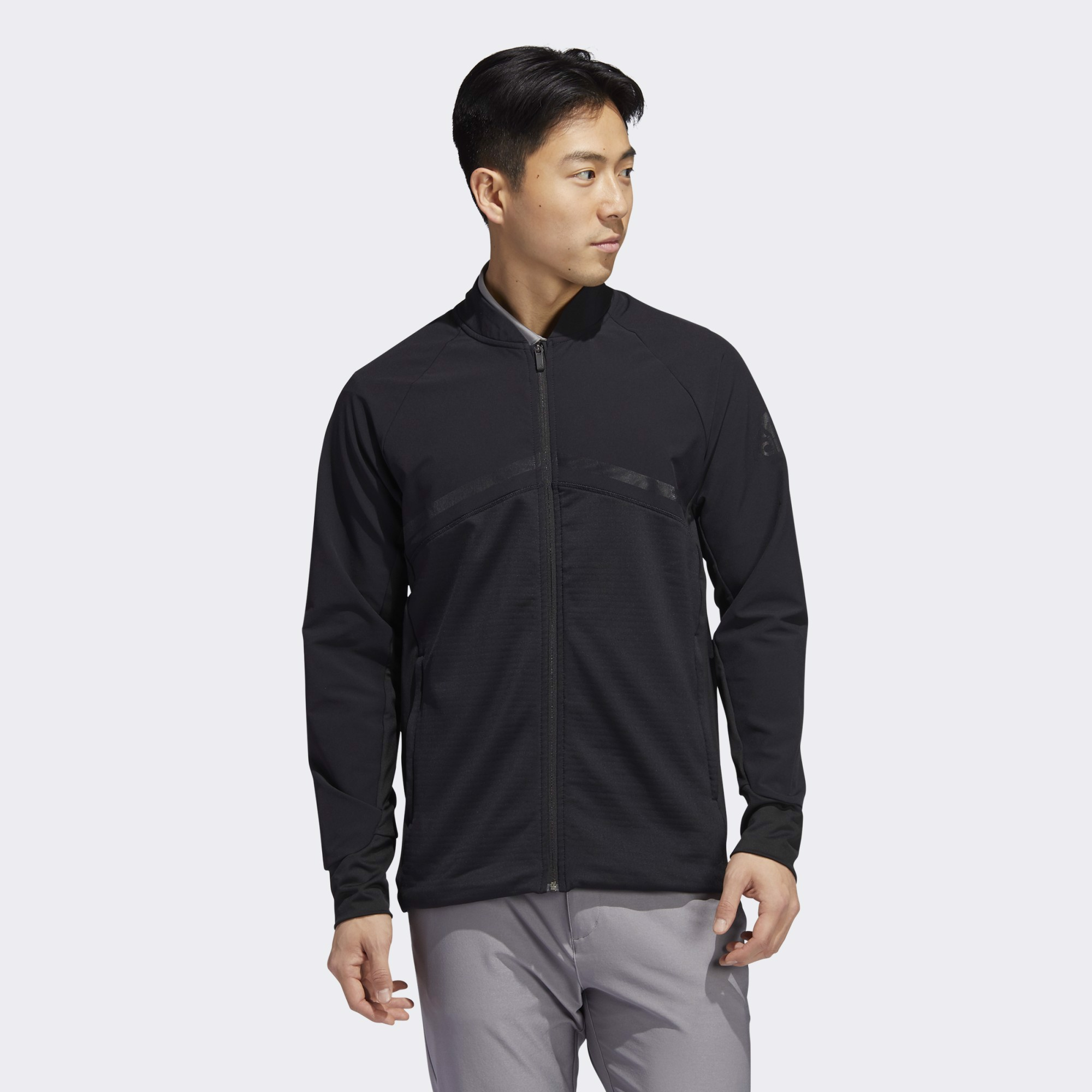 adidas Hybrid Full-Zip Jacket - Black