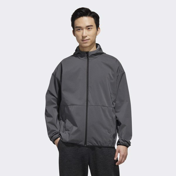 adidas SG ID Travel Jacket 'Grey'