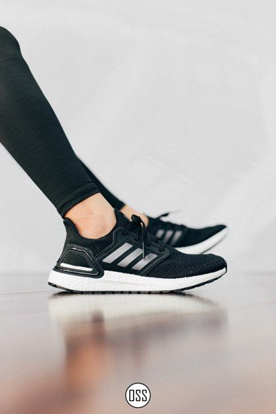 adidas UltraBOOST 20 'Black/White'