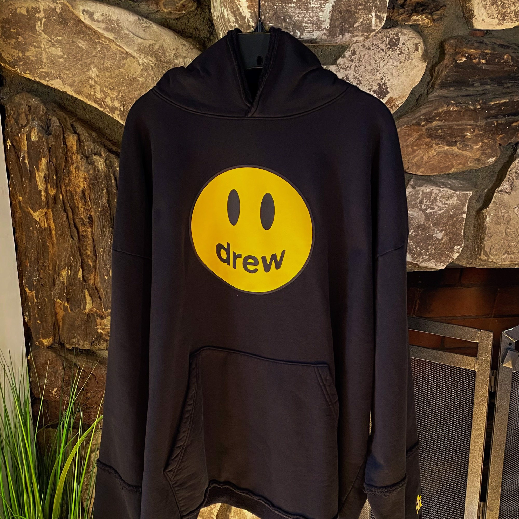 Drew House Deconstructed Mascot Hoodie - Black