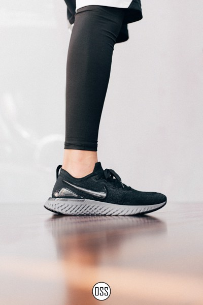 Nike Epic React Flyknit 2 'Black/Gunsmoke'